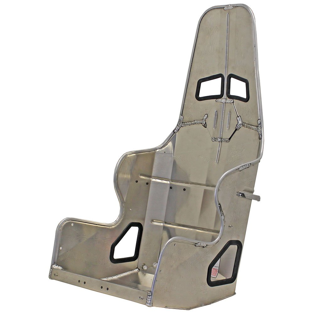 Kirkey Aluminum Racing Seat 38185 18.5 inch 10 to 20 Degree Layback