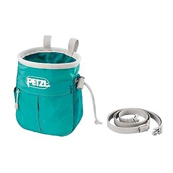 Petzl sakapoche Bolsa de magnesio para escalada, color turquesa: Amazon.es: Deportes y aire libre