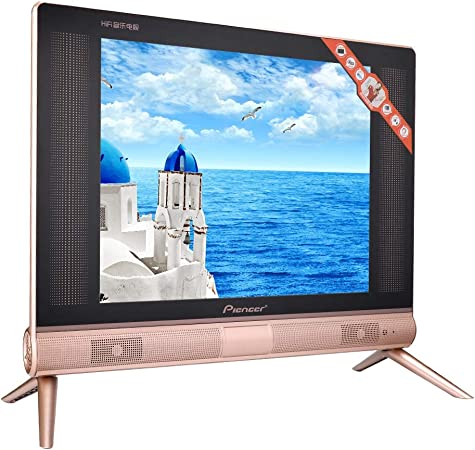 Wosume TV Mini TV ultradelgada Televisor LCD HD Resolución de 17 Pulgadas Sonido estéreo(Enchufe de la UE): Amazon.es: Electrónica