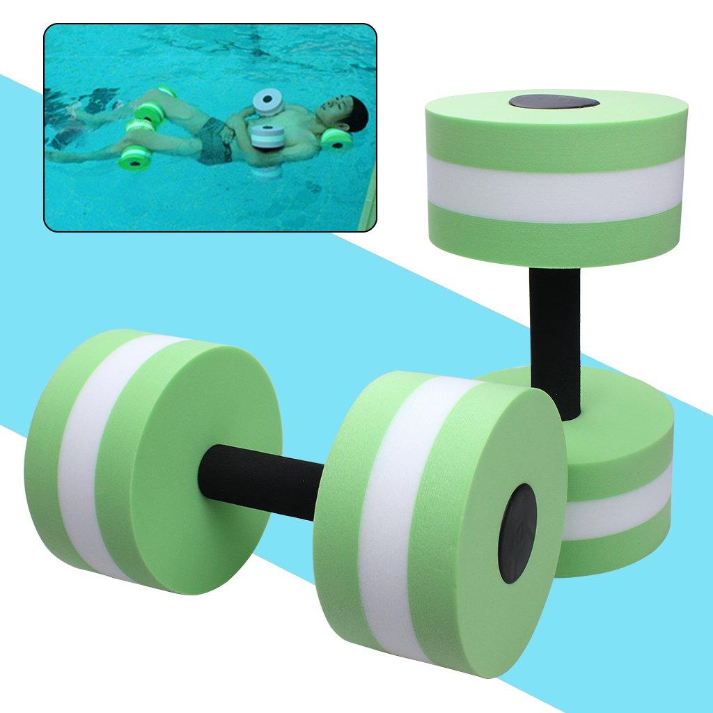 174b2b4c149 Aquatic Exercise Dumbells- EVA Water Sport Dumbells Barbell for Water  Aerobics Yoga Exercise Training Fitness Equipment ...