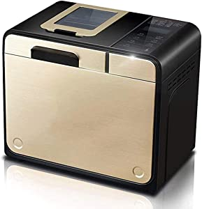 Bread Machine Mix Flour, Bread Maker Automatic Dough Kneading Multifunctional Intelligent Bread Makers Machines for Baking Home DIY