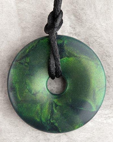 Teething Bling Emerald Green Shimmer - Shimmer Emerald