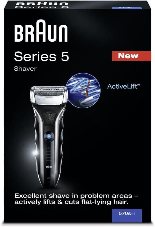 Braun - Afeitadora Series 5 570: Amazon.es: Salud y cuidado personal