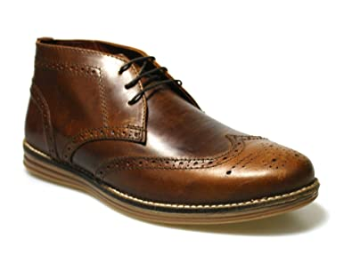 Brogues Tan Leather - Tan Redtape