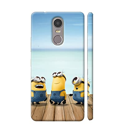 info for f0619 49784 Clapcart Redmi Note 4 Minions Designer Printed Mobile: Amazon.in ...