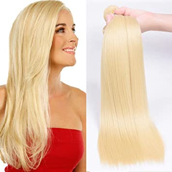 Amazon 613 platinum blonde hair weave 3pcs lot russian 613 platinum blonde hair weave 3pcs lot russian blonde bundles hair extensions 100 8a grade pmusecretfo Gallery