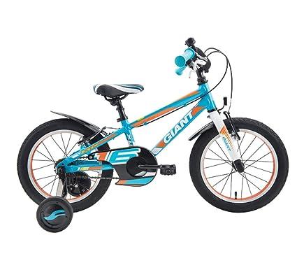 Creing Bicicleta para Niños 16 Inch con Rueda de Entrenamiento Bici Marco de aleación de Aluminio