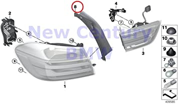 BMW Genuine Hardtop Retractable Roof Sections Roof Shells Mounting Clip 328i 335i M3 328i 335i 335is M3 428i 428iX 435i 435iX M4