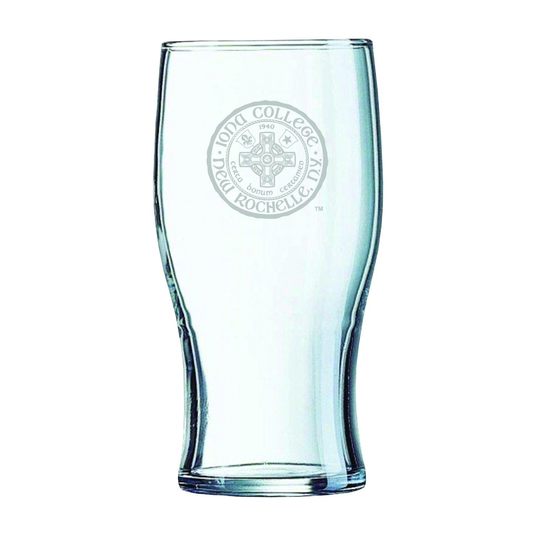 Iona College-Irish Pub Glass