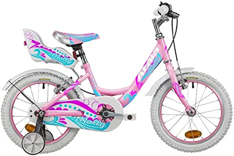 Atala Molly - Bicicleta infantil de 16 pulgadas, 1 velocidad, color rosa