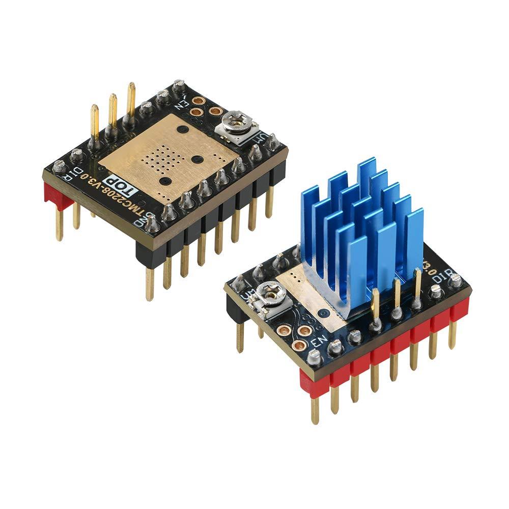 Module pilote de moteur pas /à pas TMC2208 V3.0 UART avec dissipateur de chaleur pour imprimante 3D
