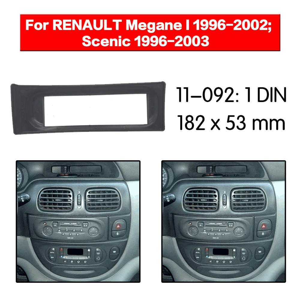 Autostereo 11-092/-/Kit de marco de instalaci/ón de radio de coche