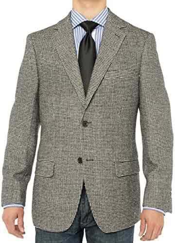 65e465eeb26 LN LUCIANO NATAZZI Men s Luxurious Camel Hair Blazer Modern Fit Suit Jacket