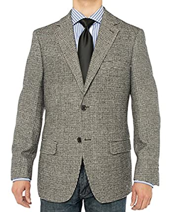 Luciano Natazzi Men's Camel Hair Blazer Modern Fit Suit Jacket at ...