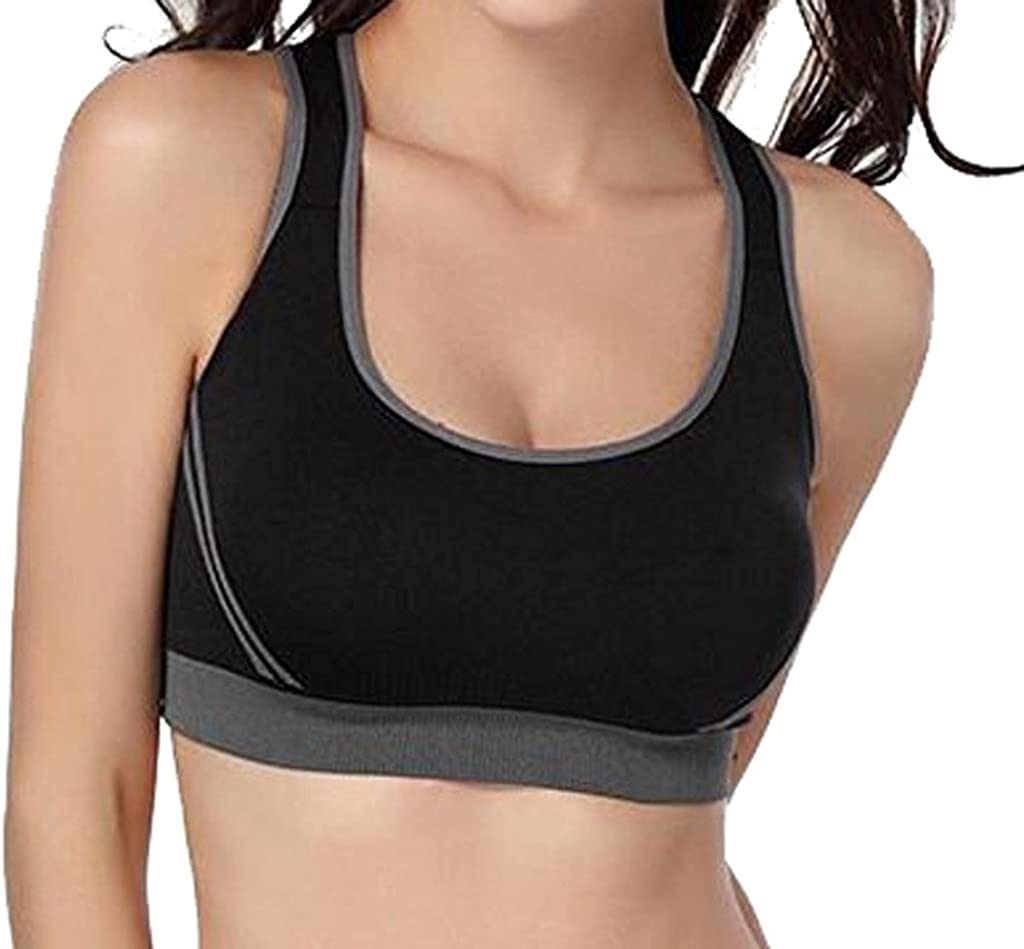 esercizio fitness jogging reggiseno imbottito per corsa Reggiseno sportivo da donna a medio impatto