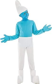Generique - Disfraz Pitufo niño 7 a 8 años: Amazon.es: Juguetes y ...