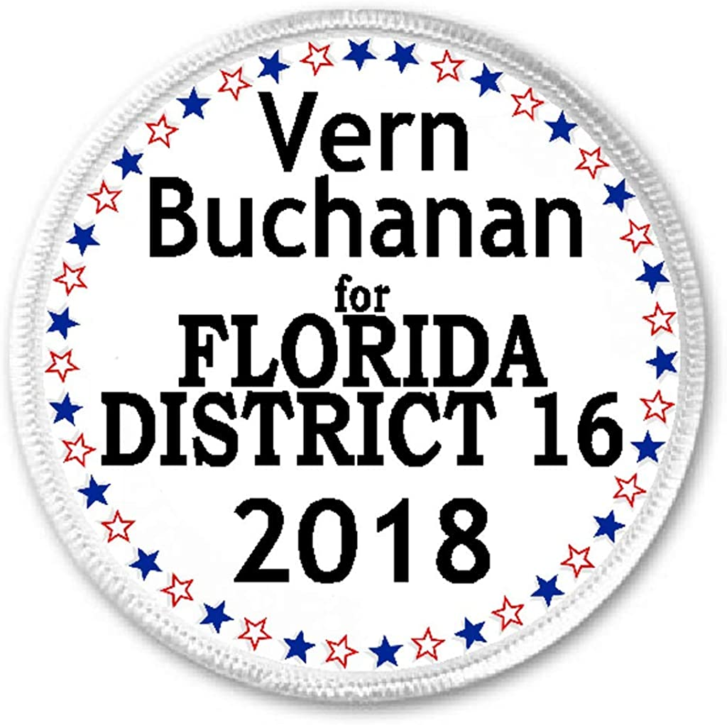 Vern Buchanan for Florida District 16 2018-3 Sew//Iron On Patch Election