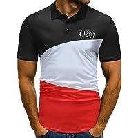 VPASS Mens Pique Polo Buttons Design T-Shirt Super Premium Patchwork Half Cardigans Short Sleeve Valueweight Casual T Shirt Pique Polo Top Blouse