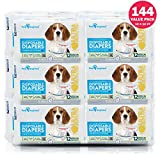Paw Inspired 144 ct Ultra Protection Female Disposable Dog Diapers Bulk