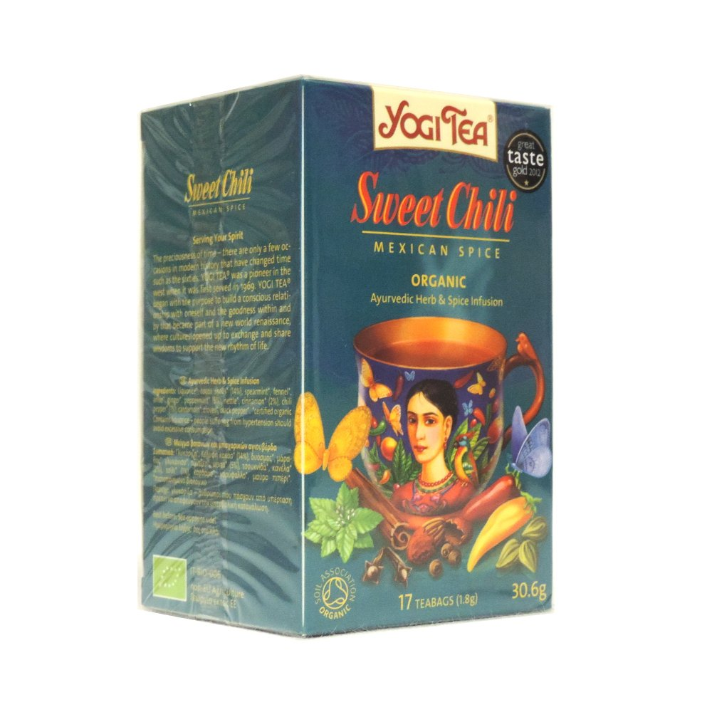 Amazon Com Yogi Tea Choco Aztec Spice 34g Herbal