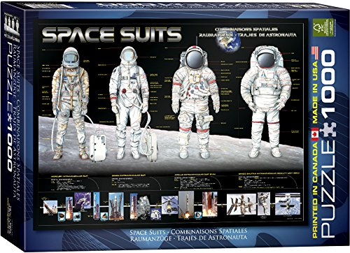 EuroGraphics Space Suits 1000 Piece Puzzle