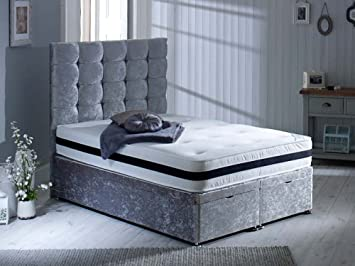 Admirable Fads Homestyle Divine Sleep George Small Double Ottoman Bed Alphanode Cool Chair Designs And Ideas Alphanodeonline