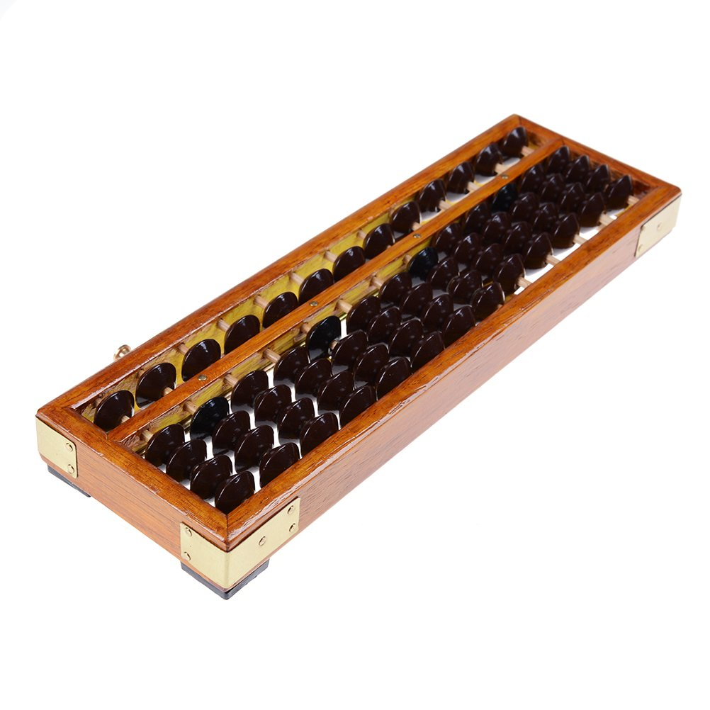 SuxiDi Wooden Abacus Arithmetic Calculating Tool Mine tShinesun