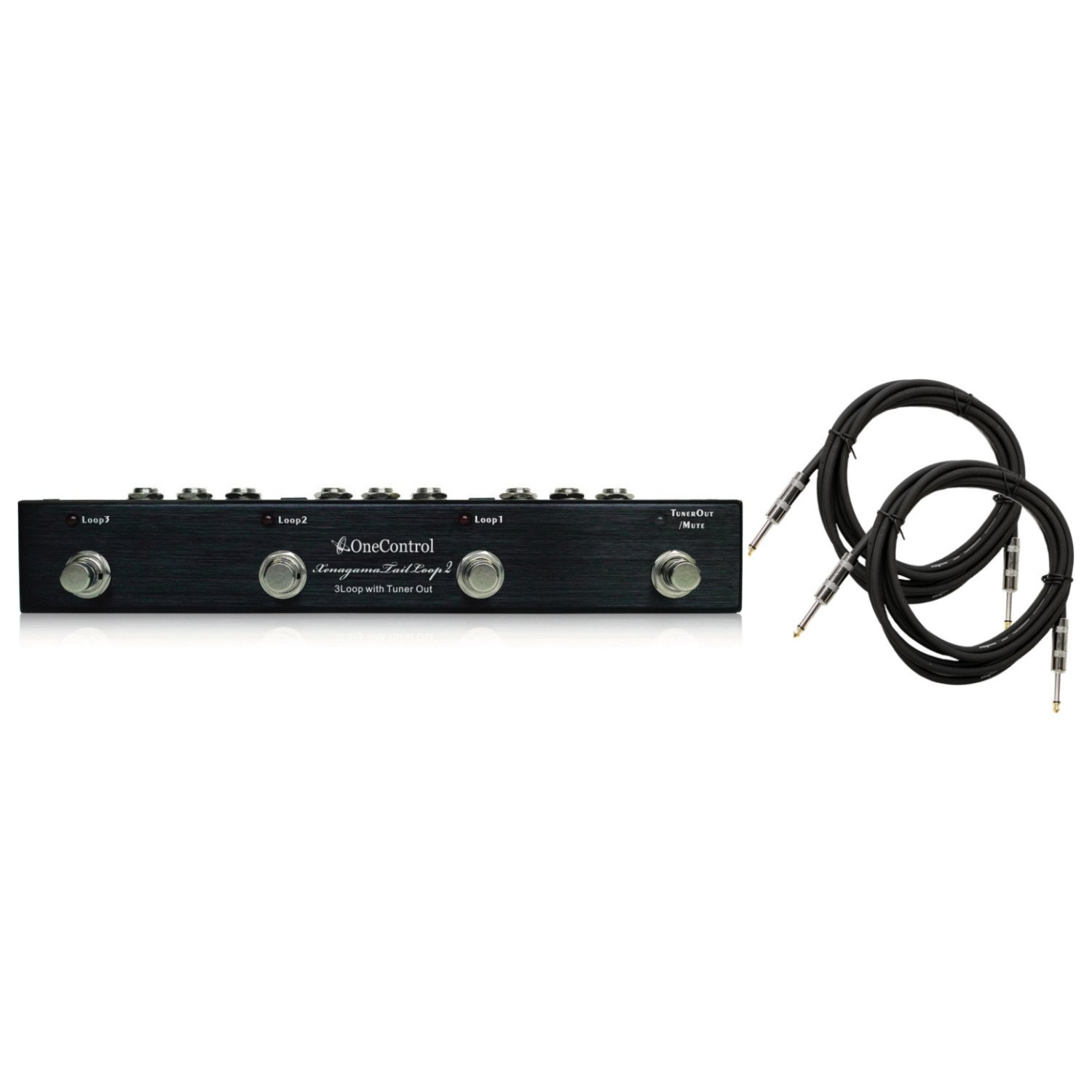 One Control OC3II XENAGAMA TAIL LOOP 2 Pedal Switcher w/ Cables by One Control