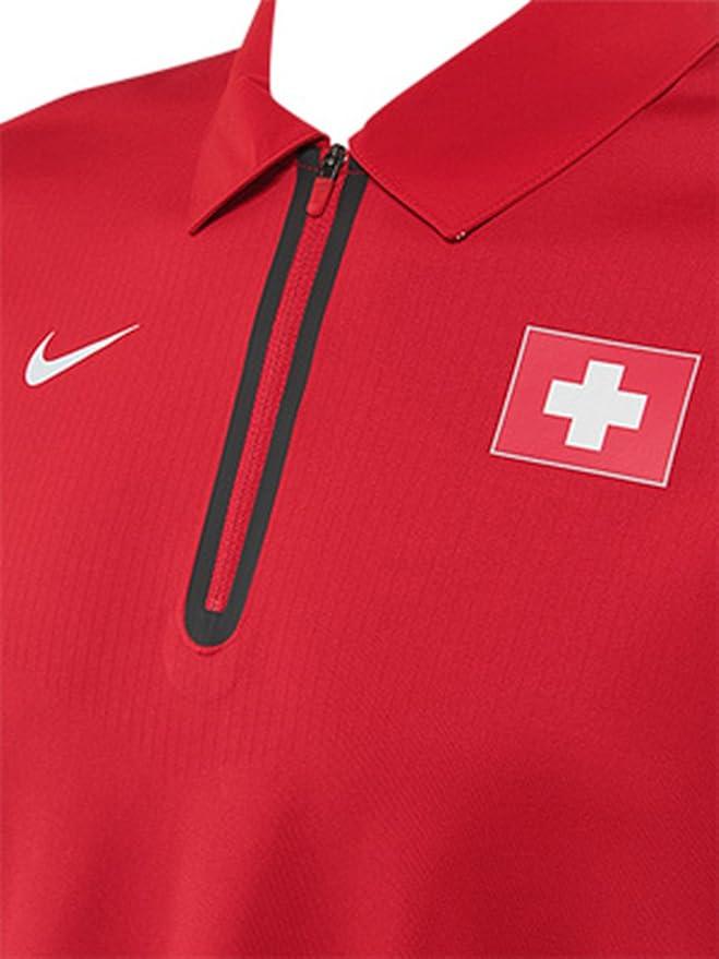 Nike Roger Federer 2014 Swiss Copa Davis champoin & Olímpico Cross ...