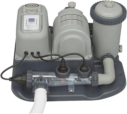 Intex Combo - Depuradora de Cartucho y cloración Salina, 26.500 ...