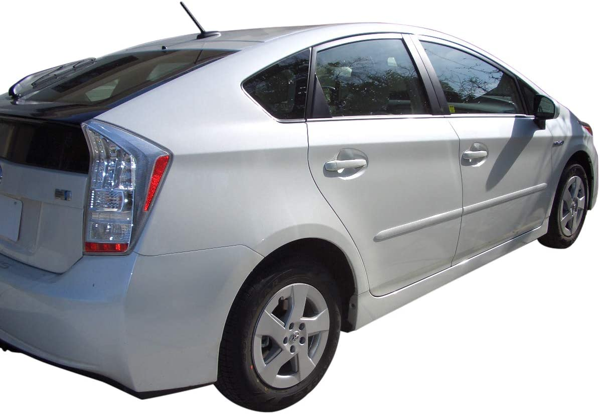 Body Side Moldings made for the Toyota Prius Painted in the Factory Paint Code of Your Choice 4S2