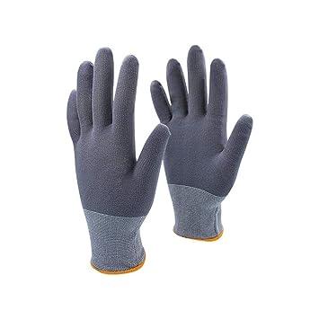 TYC Antideslizantes guantes de algodón seguridad en el trabajo ...