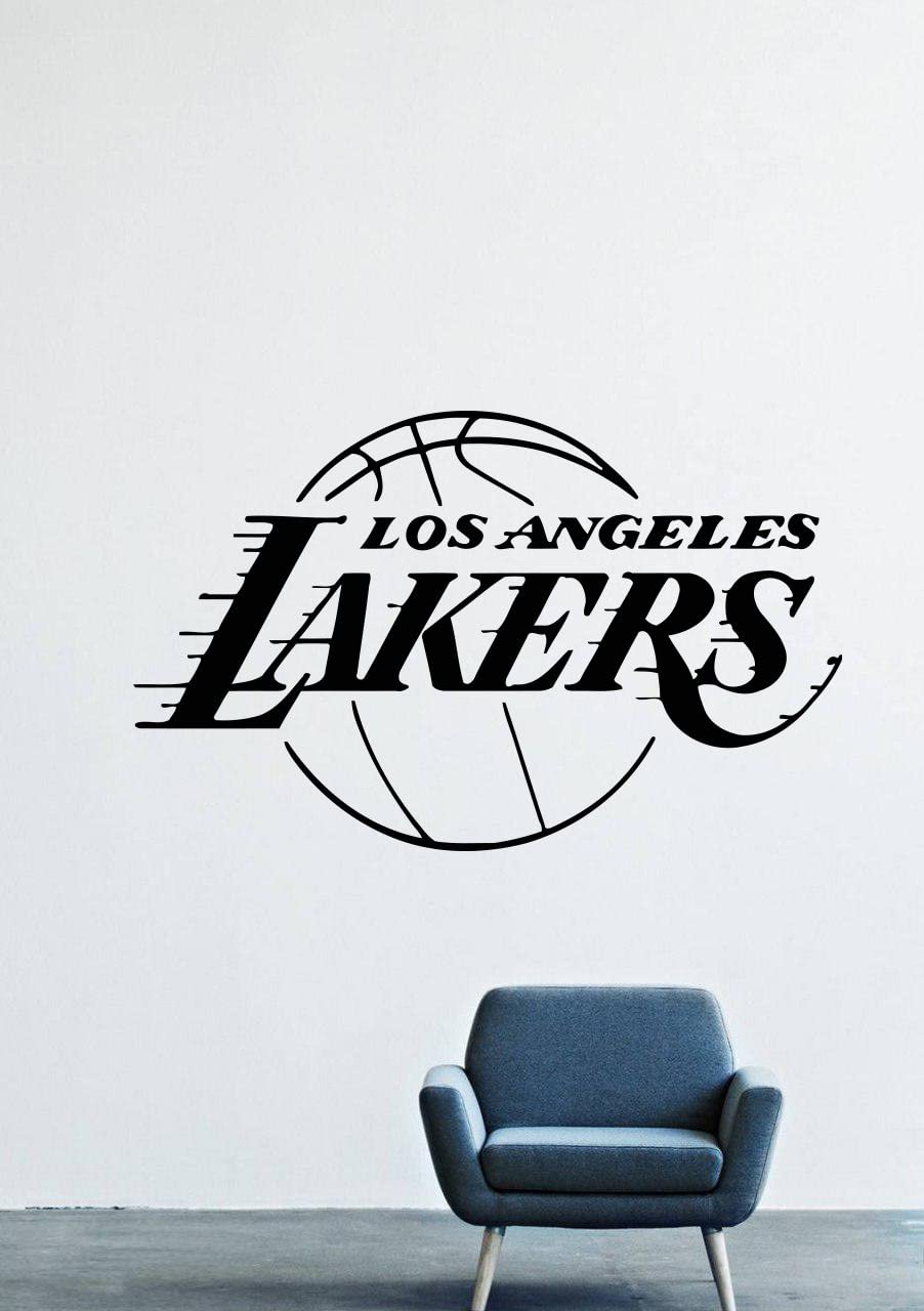 Angeles Lakers Wall Decals Decor Vinyl Stickers GMO1851