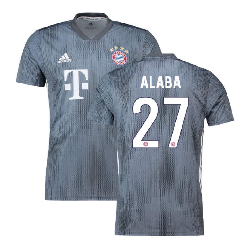 2018-19 Bayern Munich Third Football Soccer T-Shirt Trikot (David Alaba 27)