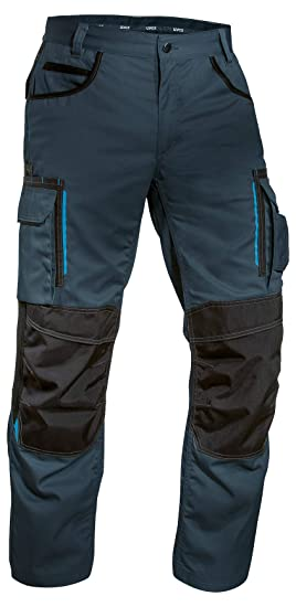 77dffdd23d Uvex Tune-up 8909 Work Trousers Cordura Knee Pads Men   Light Ventilated Work  Pants Elasticated Waist   Multiple Holster Pockets: Amazon.co.uk: Clothing