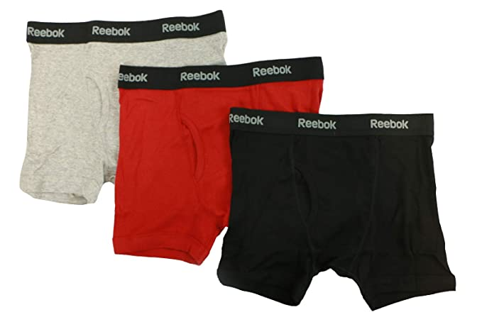 6d5d9407340d9 Reebok Men's 3pk Cotton Boxer Brief