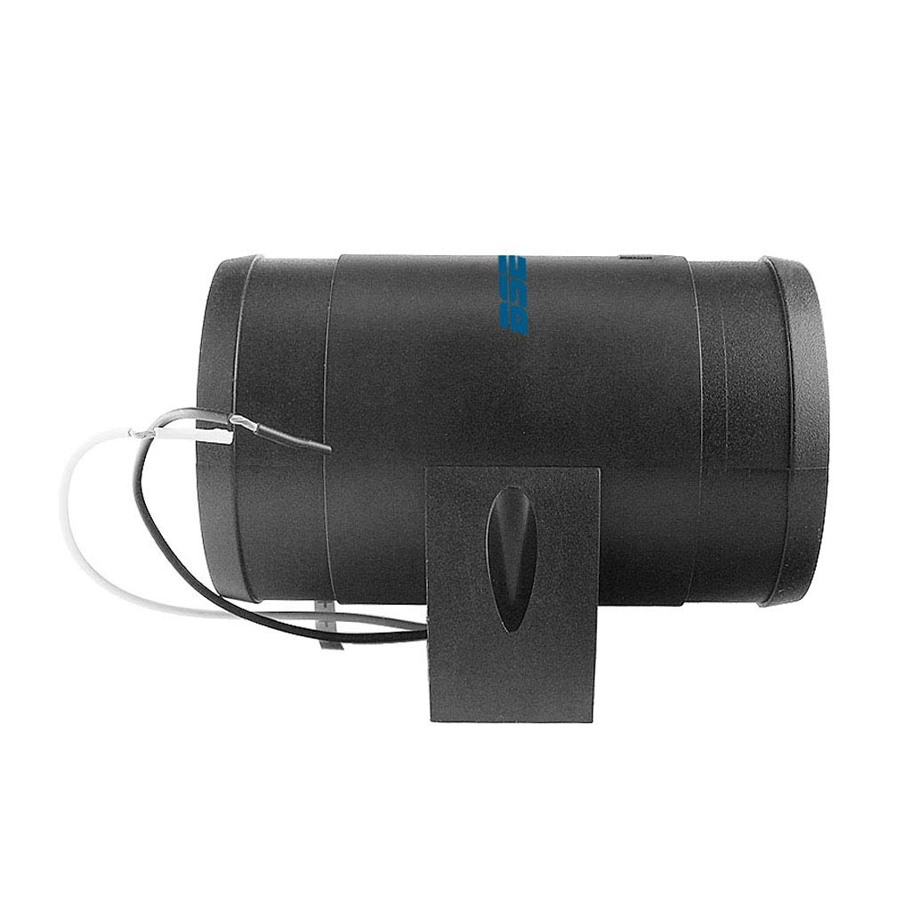 Homyl Ventilateur dExtracteur dAir de Conduit 12V 3in-line 145 CFM pour Salle de Bain Tentes Marine 12,8x11x9Cm