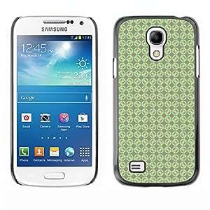 FlareStar Colour Printing cool circles cáscara de plástico para Samsung Galaxy S4 Mini i9190 MINI VERSION!