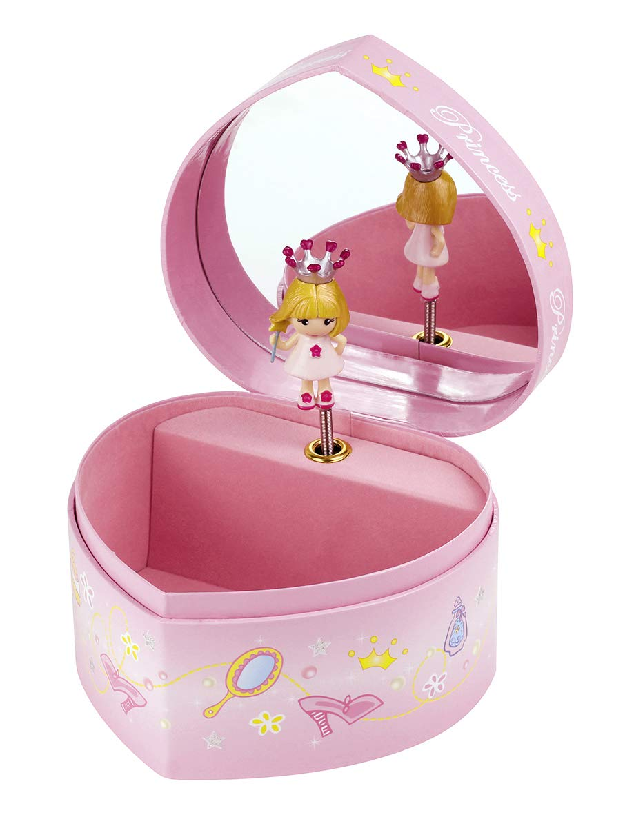 Trousselier Heart with Music Princess Figure Large