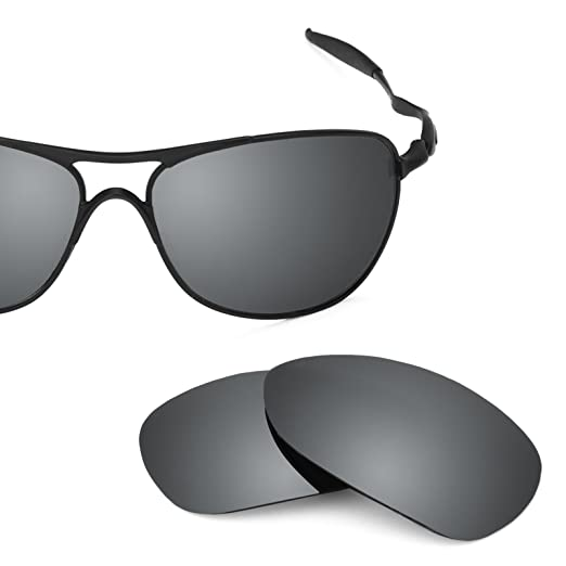 6ea3a730be8 Revant Polarized Replacement Lenses for Oakley Crosshair (2012) Elite Black  Chrome MirrorShield