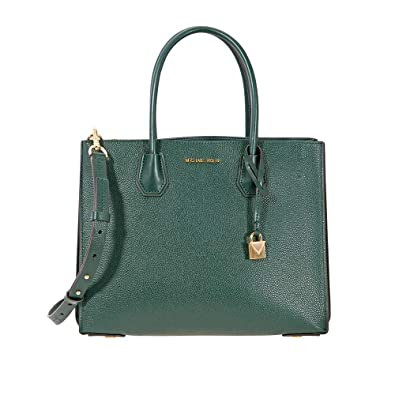 f5f6b8ee792528 Amazon.com: Michael Kors Mercer Large Pebbled Leather Tote: Shoes