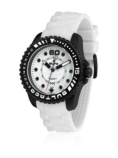 Bultaco Reloj Análogo clásico para Hombre de Miyota 2035 con Correa en Silicona BLPB45SCW1: Amazon.es: Relojes