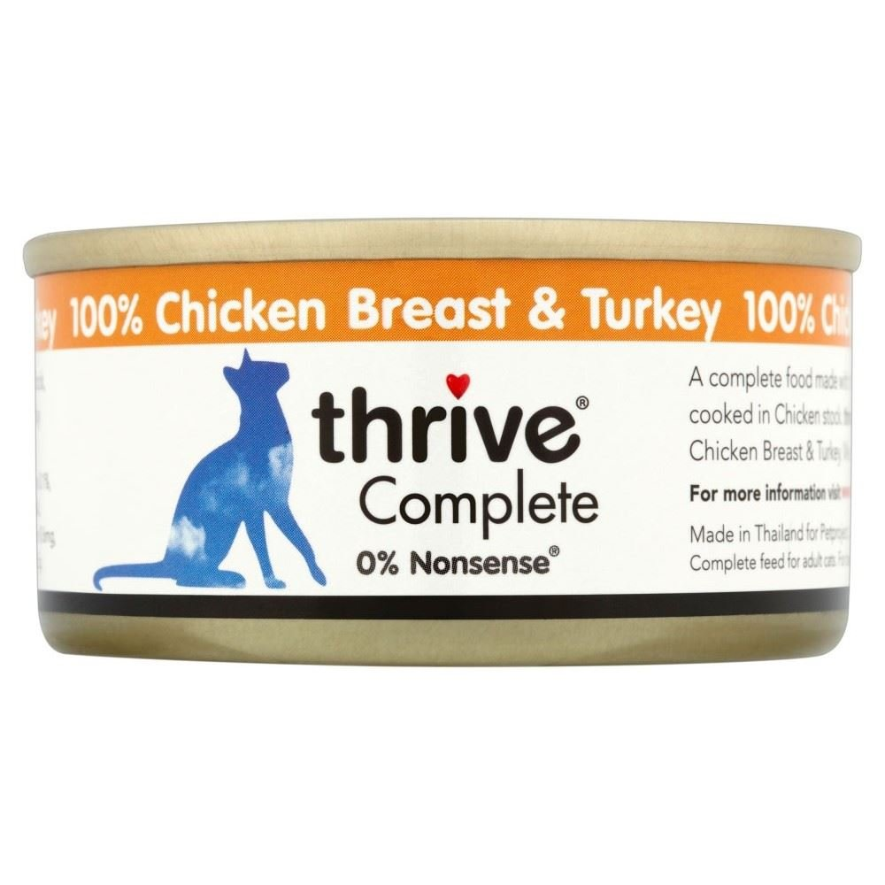 new Thrive Complete Chicken Breast & Turkey (75g) - Pack of 2