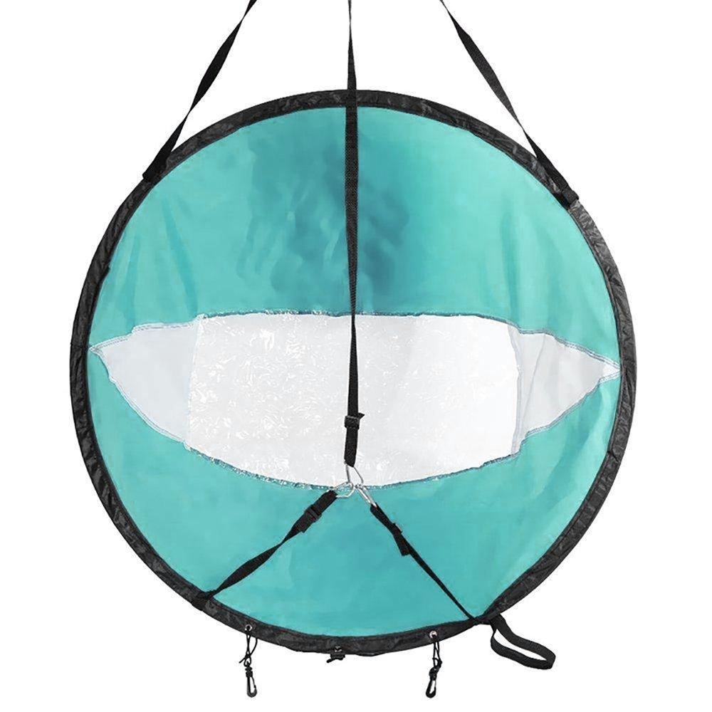 """42 /""""Folding Vorwind Wind Paddle Popup Brett Kajak Segel Wind Segel Zubehör"""