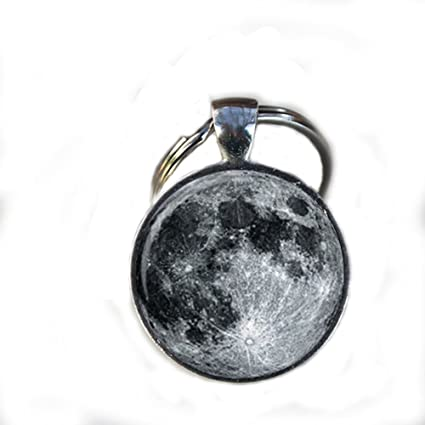 Amazon.com: Charm Full Moon Keychain,gorgeous Keychain, Mimi ...