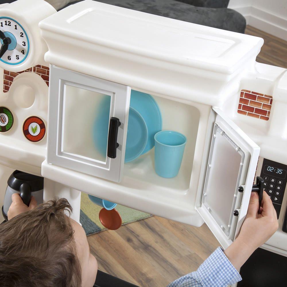 Step2 Great Gourmet Neutral Kitchen Set, Kitchen Playsets - Amazon ...