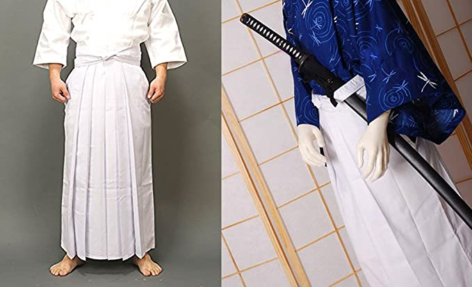 KIKIGOAL Mens Kendo Aikido Hapkido Martial Arts Sportswear Hakama