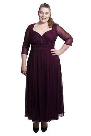 dce08acaaa7 Scarlett   Jo Wrap Top Belted Maxi Dress Sizes 10-32  Gifi Fields ...