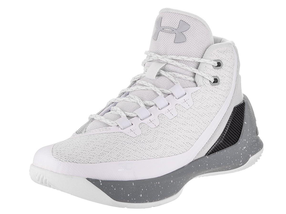 Under Armour GS Curry 3 Jugend US 6.5 Weiß BasketballSchuh