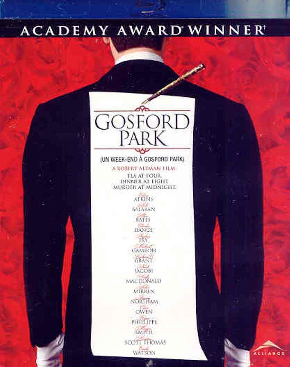Gosford Park [Reino Unido] [Blu-ray]: Amazon.es: Alan Bates ...